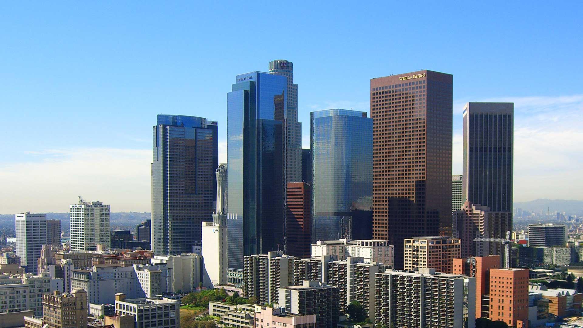Downtown_LA_Skyscrapers
