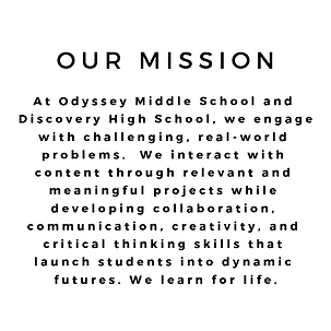 At Odyssey Middle School and Discovery H