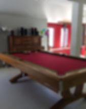 table de billard maison des ainés