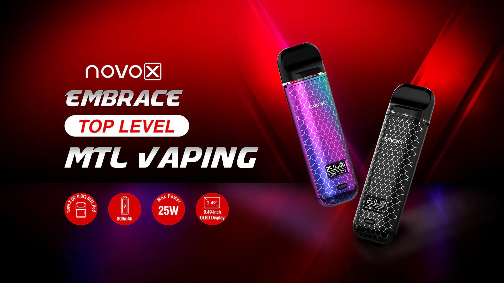 Introducing the Smok Novo X