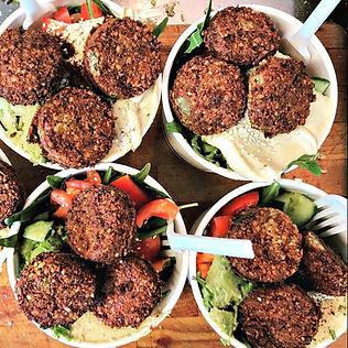 Felafal Salads at ACU
