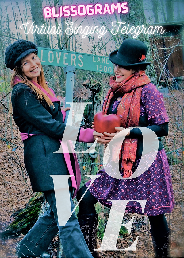 Love Typography Valentine's Flyer Layout
