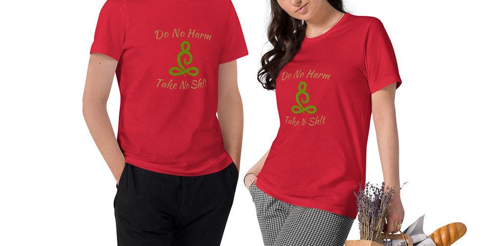 Do No Harm Unisex Organic Cotton T-Shirt