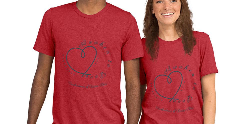 Eco Awaken to Love Short sleeve t-shirt