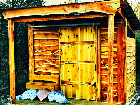 Composting Toilet Houses Completed