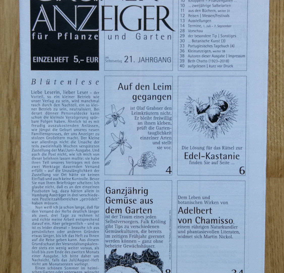 Grüner Anzeiger, 07/08 2018