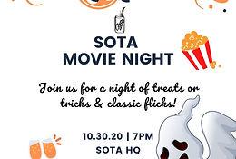 Spooky Movie Night @ SOTA