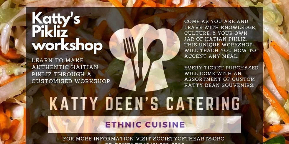 Katty Deans Haitian pikliz workshop!
