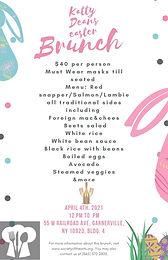 Katty Deans Easter Brunch