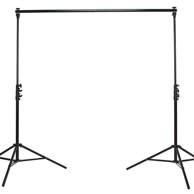 9ft tall back drop stand