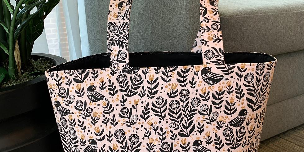 SkillPop Tote Bag Sew-Along