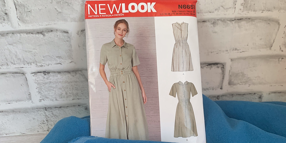 New Look 6651 Sew-Along