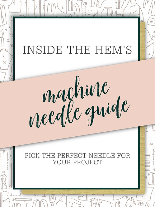 Machine Needle Guide