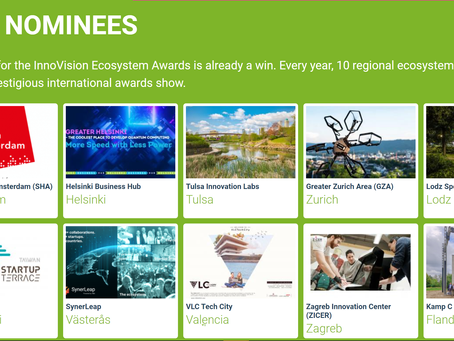 Congrats!! Startup Terrace Nominated Top 10 of The global InnoVision Ecosystem Awards, The Only Nomi