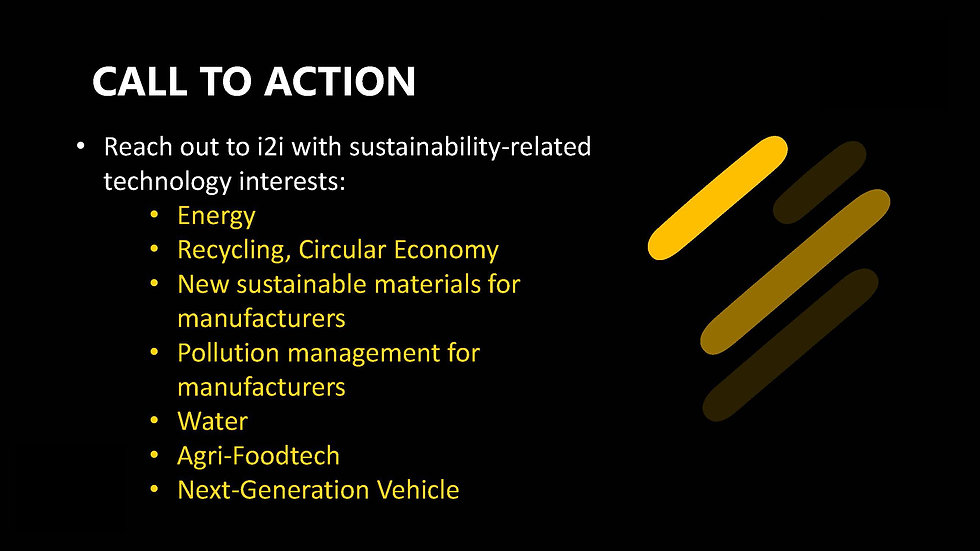 IP2 Sustainability Track by SNC for i2i