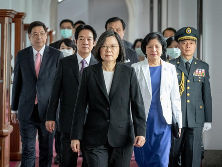 President Tsai Ing-wen Inaugural Address Pays Homage to Covid-19 Heroes