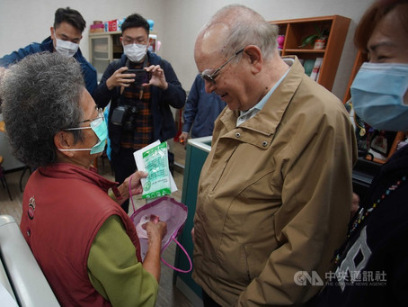 Priest thanks Taiwanese for donations for Italy