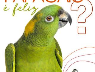 Seu papagaio é feliz?