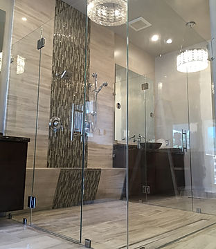 frameless shower, seamless shower, shower door, shower enclosures, shower glass, shower installers, how to install shower doors