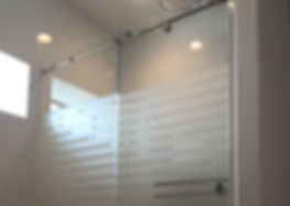 Frameless Glass Shower Door Skyline Cardinal BarnDoor