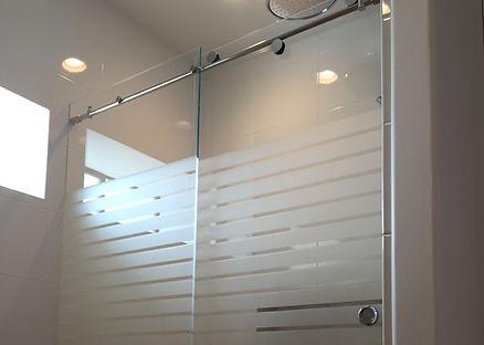 Frameless Glass Shower Door Skyline Cardinal BarnDoor