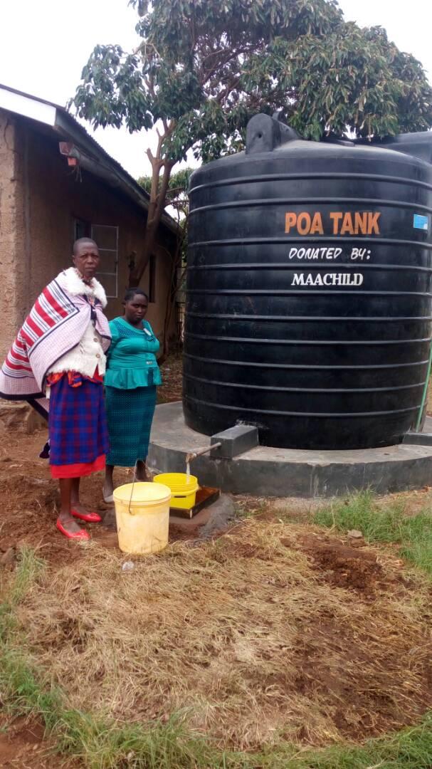 Kimana Health Clinic Water Tank