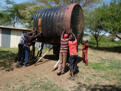water tank arrival 2017