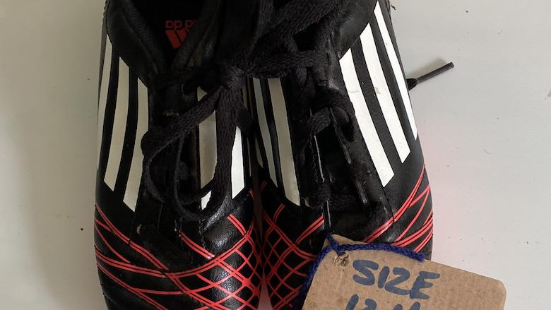 Adidas TRX Firmground (Size 13.5 Kids)