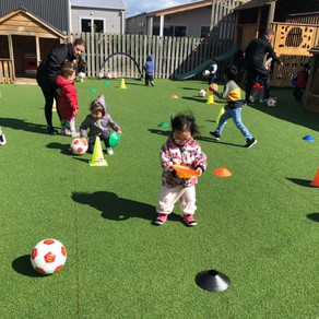PTG reaches 1-year milestone delivering Motorskills Football Curriculum to Preschools