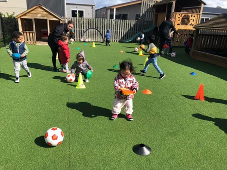 PTG reaches 1-year milestone delivering Motorskills Football Curriculum to Preschools