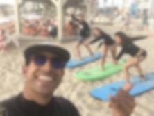 עושים פוזות למצלמה- אימון בחוף