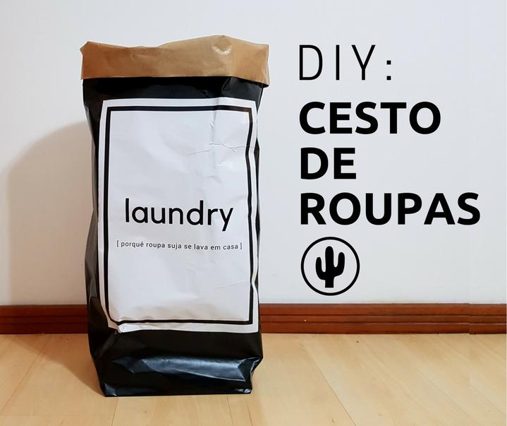 DIY: Cesto de roupas
