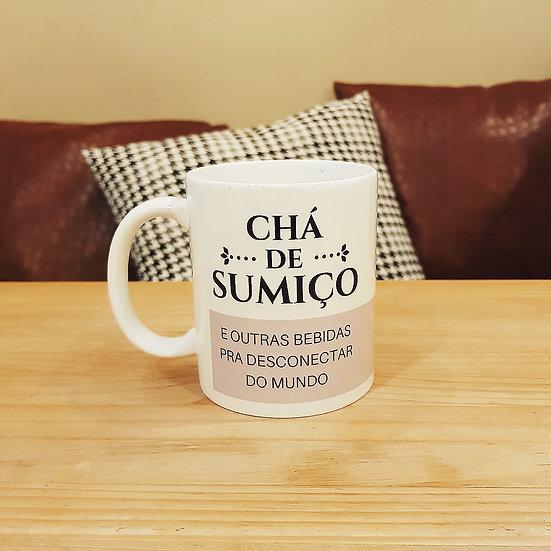 Caneca Chá de Sumiço