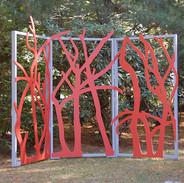 Park tri-fold screen