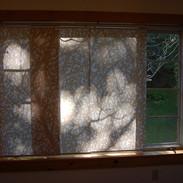 Fabric curtain panels