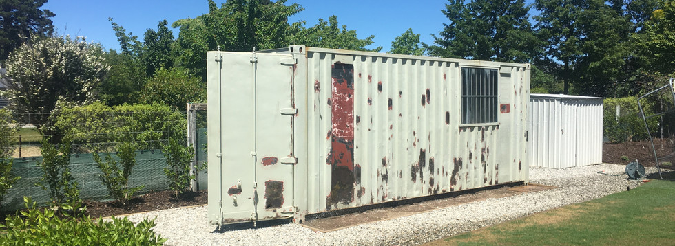 Container Repaint - Before