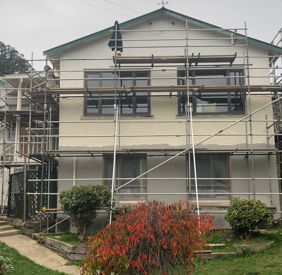 Complete Scaffold, Repairs and Repaint