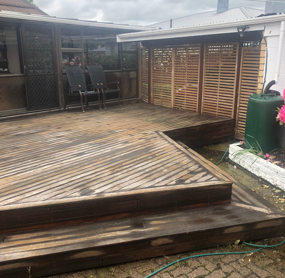 Redone Deck - Before