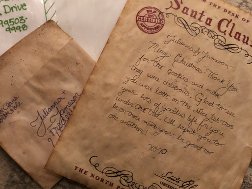 Letters from Santa at the North Pole