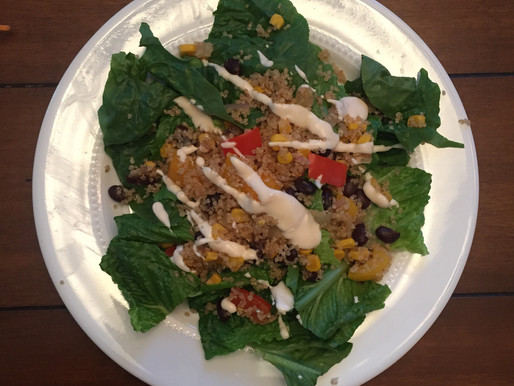What's for dinner? ... Black Bean Quinoa Salad