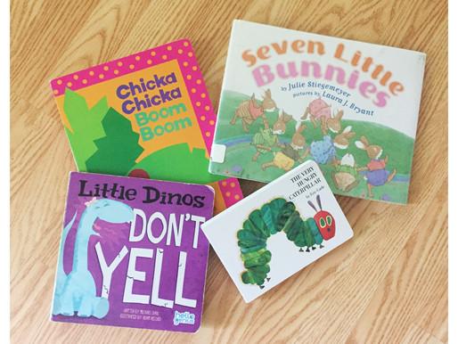 Next Top Reads: Journey to 1,000 Books before Kindergarten