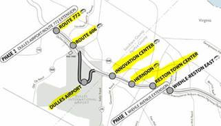 Silver Line Metrorail to Dulles Update To Be Completed in 2019!