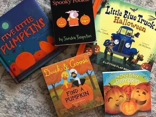 Fall & Halloween Books for Your Little Ones