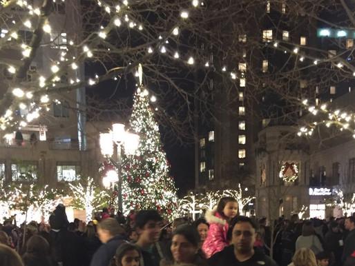 Reston Town Center Tree Lighting