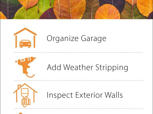 Infographic: Fall Home Maintenance Tips