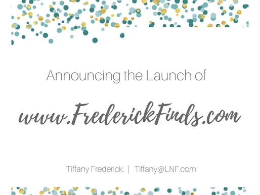 Announcing Frederick Finds!