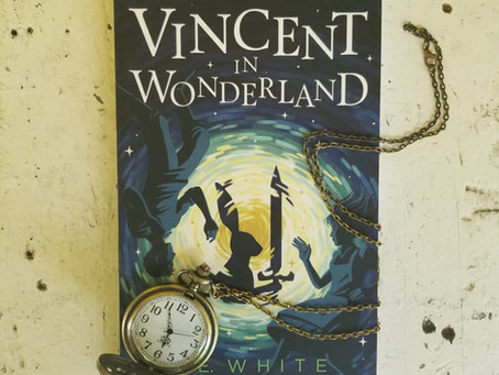 """Vincent in Wonderland"" Book Release Day July 1st!!"