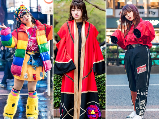 Asian Street Fashion - von Harajuku bis Gangnam