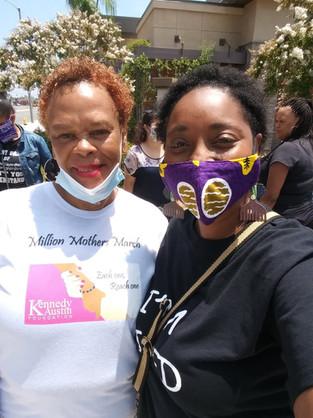 Kennedy Austin Foundation Million Mother's Rally   Black Lives Matter
