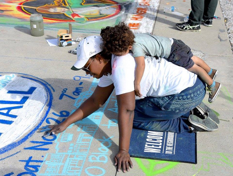 Pomona Chalk Art Festival
